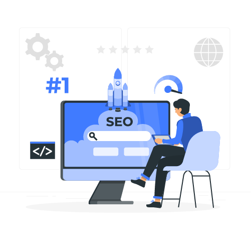 Digital marketing seo website traffic