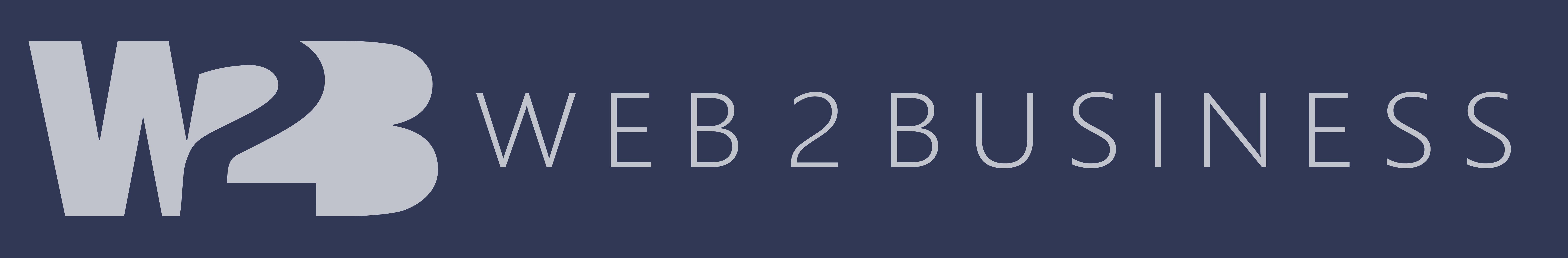 Web 2 Business logo header